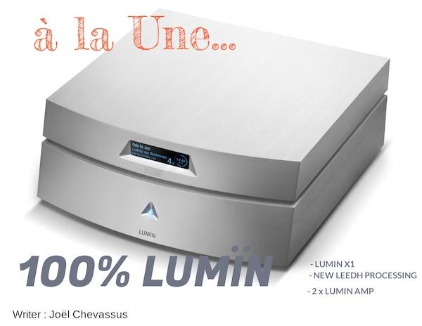 100% LUMIN : X1 / AMP & LEEDH PROCESSING 2